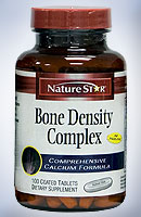 NatureStar Bone Density Calcium Supplements