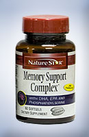 NatureStar Memory Support complex Brain function focus enhancer
